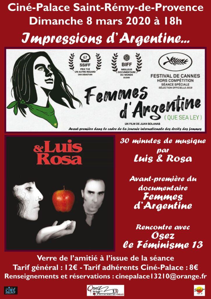 L&R 8 Mars affiche